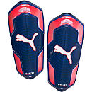 Puma evoPOWER 1 Shin Guards - Peacoat and Red