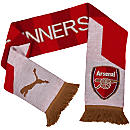 Arsenal Fan Scarf - Red