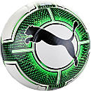 Puma evoPOWER Vigor 1.3 Match Soccer Ball - White & Green Gecko