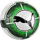 Puma evoPOWER Vigor 3.3 Tournament Match Soccer Ball - White & Green Gecko