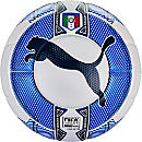 Puma Italy evoPOWER 1.3 Match Ball - White & Navy