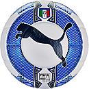 Puma Italy evoPOWER 1.3 Match Ball - White & Navy