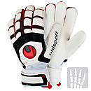 Uhlsport Cerberus Supersoft Bionik Goalkeeper Glove  White with Black
