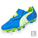 Puma v3.11 I FG  Dresden Blue with White and Lime Punch
