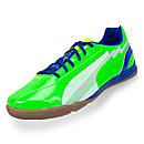 Puma evoSPEED 5 IT Indoor Soccer Shoes  Green with White