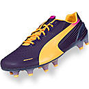 Puma evoSPEED 1.2 FG Soccer Cleats  Blackberry