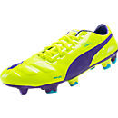 Puma evoPOWER 1 FG Soccer Cleats - Fluro Yellow
