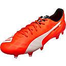 Puma evoSPEED SL FG Soccer Cleats - Lava Blast