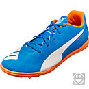 Puma Kids evoSPEED 5.4 TT - Electric Blue Lemonade & White