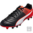 Puma Kids Adreno II FG - Black & Red Blast