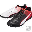 Puma Kids Adreno II TF - Black & Red Blast