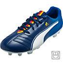 Puma Kids Cesc 4 AG Soccer Cleats - Blue and White
