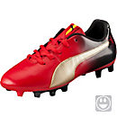 Puma Kids Cesc V2 FG Soccer Cleats - High Risk Red & Team Gold