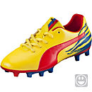 Puma Kids Falcao V2 FG Soccer Cleats - Blazing Yellow & Nautical Blue