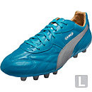 Puma King Top City di FG - Hawaiian Ocean & Puma Silver