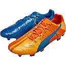 Puma evoPOWER 1.2 FG - Tricks - Electric Blue Lemonade & Orange Clown Fish