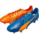 Puma evoSPEED SL FG - Tricks - Electric Blue Lemonade & Orange Clown Fish