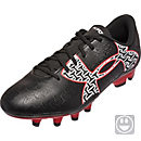 Under Armour Kids Clutchfit Force 2.0 FG Soccer Cleats - Black & Rocket Red