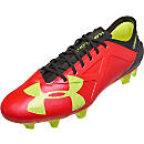 Under Armour Spotlight FG - Black & Rocket Red