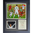 Cristiano Ronaldo Framed Art Collage