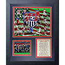 USWNT Framed Art Collage