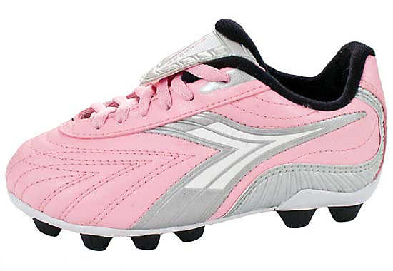 Diadora Youth Furia MD  Pink/Charcoal
