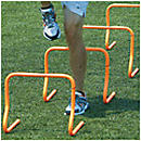 KwikGoal Speed Hurdles (Set of 4)  15 in