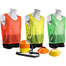 KwikGoal Mini Cone and Vest Kit