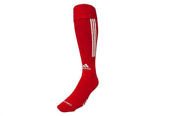 adidas red soccer socks