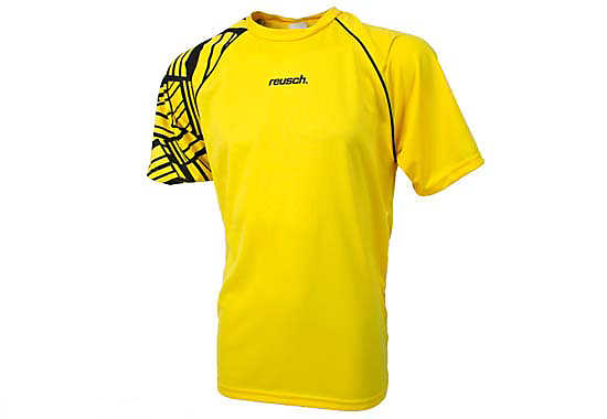 Reusch Lakota Short Sleeve Goalkeeper Jersey  Canary Yellow