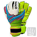 Reusch Argos Pro G2 OrthoTec Goalkeeper Gloves  Bluebird with Lime