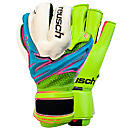 Reusch Argos Deluxe M1 Goalkeeper Gloves  Bluebird with Lime
