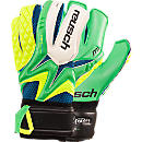 Reusch Waorani Deluxe M1 Goalkeeper Gloves  Irish Green with Yellow