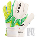 Reusch Pro X1 OrthoTec Goalkeeper Glove  Irish Green with Lime