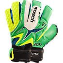 Reusch Waorani Deluxe G2 OrthoTec Goalkeeper Glove  Irish Green and Yellow