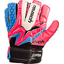 Reusch Waorani Deluxe G2 Goalkeeper Gloves  Pink and Ocean Blue