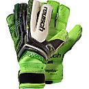 Reusch RE:CEPTOR Deluxe G2 Goalkeeper Gloves - Black and Green