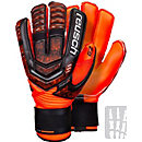 Reusch RE:LOAD Supreme G2 Ortho-tec Goalkeeper Gloves - Black & Shocking Orange