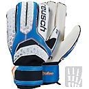 Reusch Pulse R2 Ortho-Tec Goalkeeper Gloves - White & Electric Blue