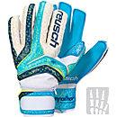 Reusch Serathor Pro AX2 Ortho-Tec Goalkeeper Gloves - Aqua & Navy Blue