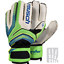 Reusch Serathor Prime R2 Ortho-Tec Goalkeeper Gloves - Green Gecko & Dazzling Blue