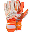 Reusch Serathor Pro G2 Evolution Cut Goalkeeper Gloves - White & Shocking OrangeReusch Serathor Pro G2 Evolution Cut Goalkeeper Gloves - White & Shocking Orange