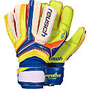 Reusch Serathor Deluxe G2 Goalkeeper Gloves - Dazzling Blue & Safety Yellow