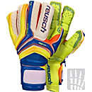 Reusch Serathor Supreme G2 Ortho-Tec Goalkeeper Gloves - Dazzling Blue & Safety Yellow