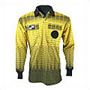 Official Sports College Grid Long Sleeve Referee Jersey