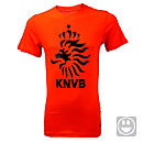 Nike Youth Holland Core Tee  Safety Orange with Black