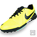 Nike Youth CTR360 Libretto III Turf Soccer Shoes Volt with Green Glow