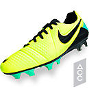 Nike CTR360 Maestri III FG Soccer Cleats  Volt with Green Glow