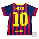 Nike Lil Boys Barcelona Messi Home Kit 2013-2014