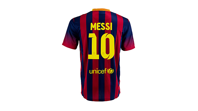 Nike Barcelona Messi Home Jersey 2013-2014